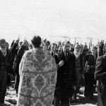 Chetniks take an oath in Lika