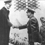 Hitler and Croatian Fuhrer Pavelic