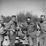 Mission Ranger in Yugoslavia in 1944, Colonel McDowell second from left