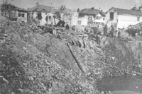 Leskovac after U.S. bombing.