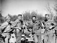 Mission Ranger in Yugoslavia in 1944, Colonel McDowell second from left.