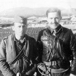Herzegovina, in 1944. Captain Borislav Todorovic and Captain Walter Mansfield