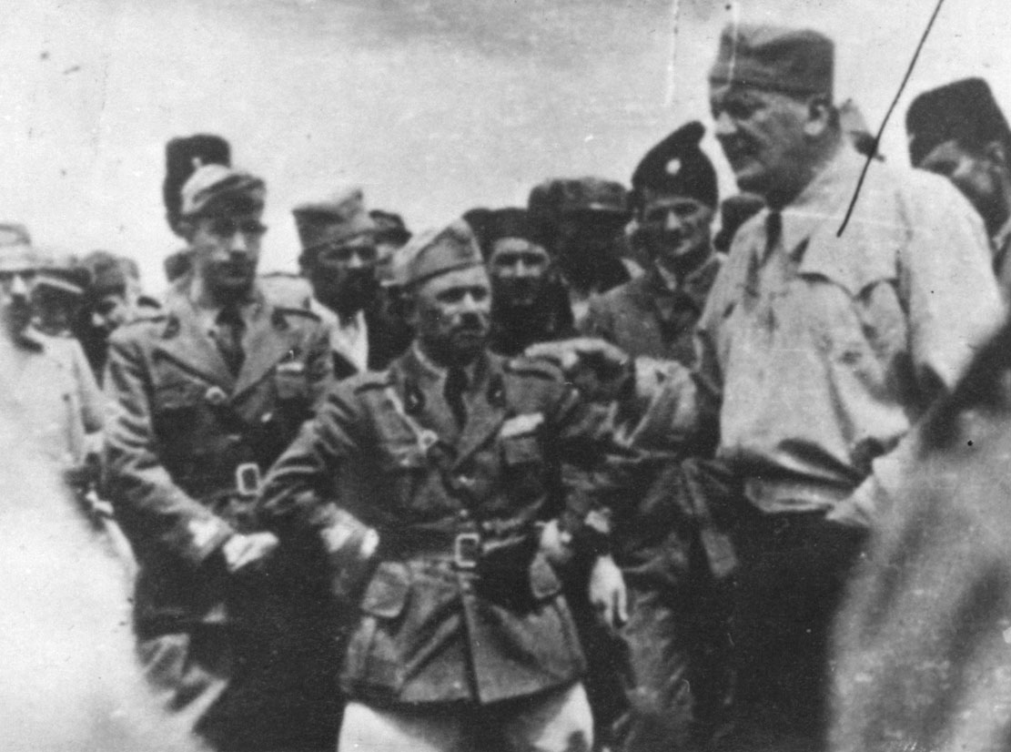 Duke Yevdjevic with Italians.