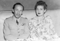 America, in 1944. Borislav Todorovic and his wife Ljubica