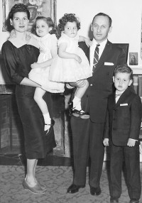 Ljubica Todorovic and Borislav with children