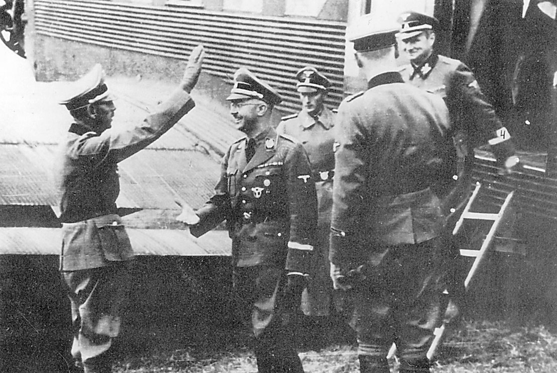 Kraljevo on October 15th 1942, Himmler's airplane has just landed at the local airport.