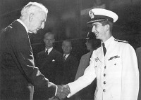 Washington DC, June 24th 1942. Meeting of King Peter and American Secretary of State Cordell Hull.