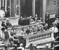Washington DC, June 25th 1942 speech of King Peter II before American Congress.