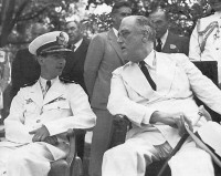 Washington DC, June 1942 King Petar II and President Roosevelt.
